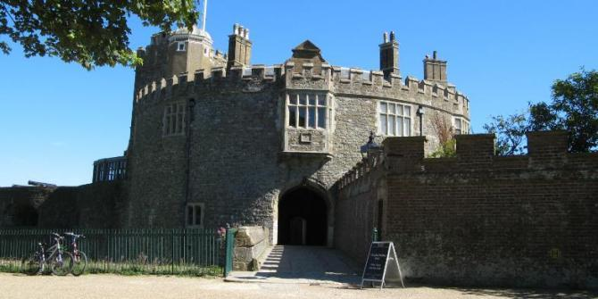 Walmer Castle near Deal - official residence of the Lord Warden of the Cinque Ports