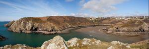 View from Pennrhyn Headland to Solva Harbour