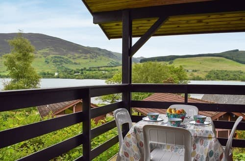 Last Minute Cottages - Loch Earn View Lodge