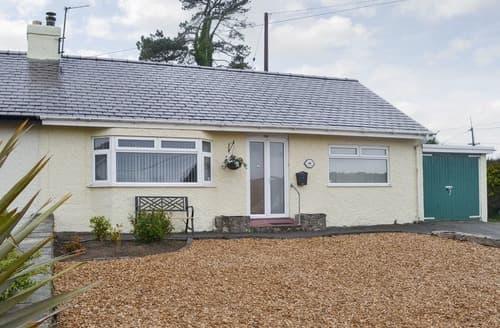 Last Minute Cottages - Hafod Y Bryn