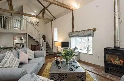 Last Minute Cottages - Heron Barn