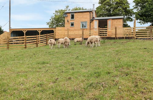 Last Minute Cottages - Shepherds Cabin at Titterstone