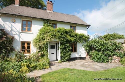 Big Cottages - Tasteful Brushford Cottage S12952