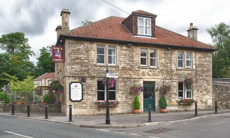 Exterior of The Rose & Crown - The Rose & Crown
