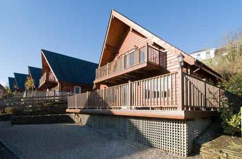 Big Cottages - Cosy Little Petherick Lodge S50514