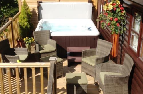 Last Minute Cottages - Mistletoe One Luxury Lodge with Hot Tub