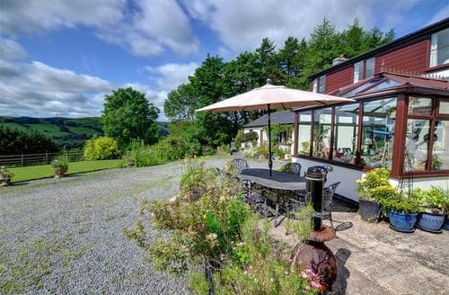 Last Minute Cottages - Tasteful Llanidloes Rental S11396