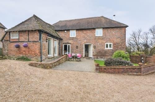 Big Cottages - Attractive Ashford Cottage S13531