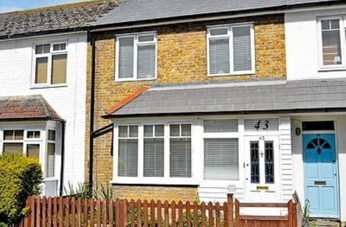 Last Minute Cottages - Inviting Whitstable Cottage S13686