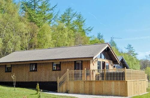Big Cottages - Captivating Otterburn Lodge S50423