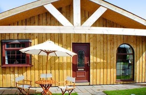 Big Cottages - Beautiful Rothbury Lodge S14653