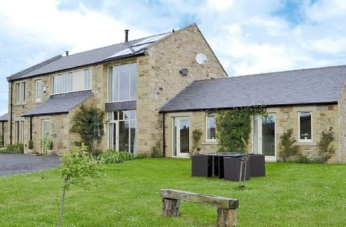 Big Cottages - Quaint Rothbury Lodge S14667