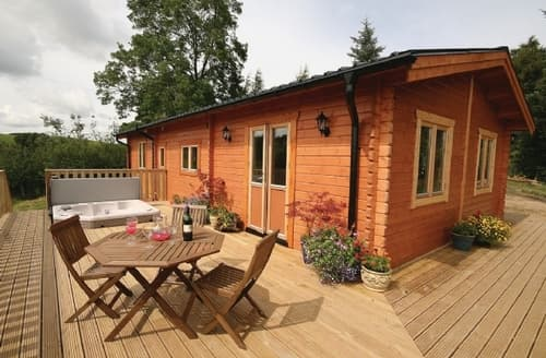 Last Minute Cottages - Gorgeous Bishops Castle Lodge S16701