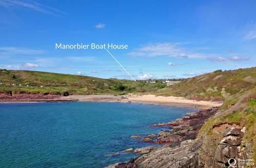 Last Minute Cottages - Manorbier Boat House