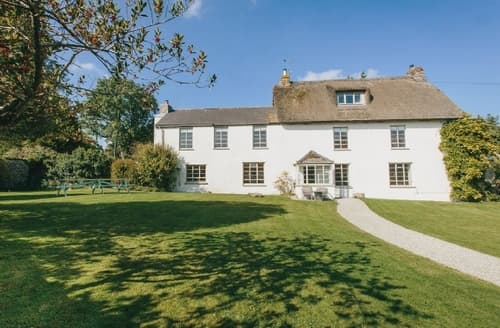 Last Minute Cottages - HIGHER WESCOTT FARM
