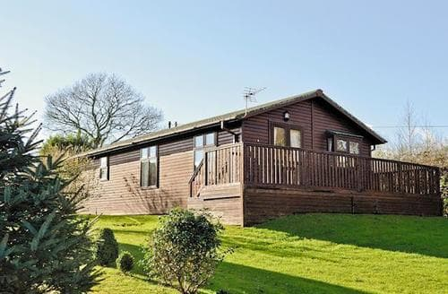 Big Cottages - Stunning Looe Lodge S21025