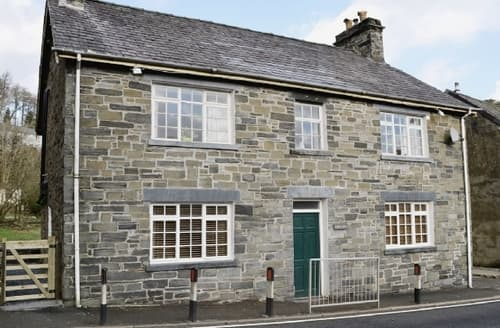 Big Cottages - Quaint Dolwyddelan And Penmachno Cottage S22460