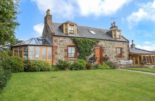 Big Cottages - Excellent Turriff Cottage S5984