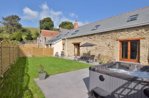 Big Cottages - Superb Ilfracombe Barn S70714