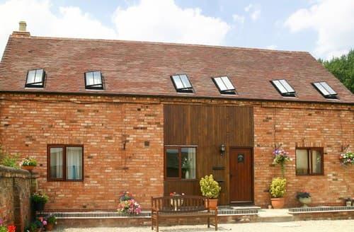 Big Cottages - Excellent Weston On Avon Barn S77353