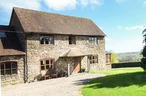 Big Cottages - Adorable Hopton Wafers Cottage S79611