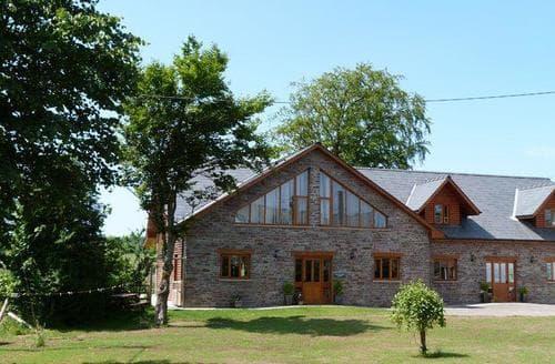 Big Cottages - Quaint Brecon Lodge S87568