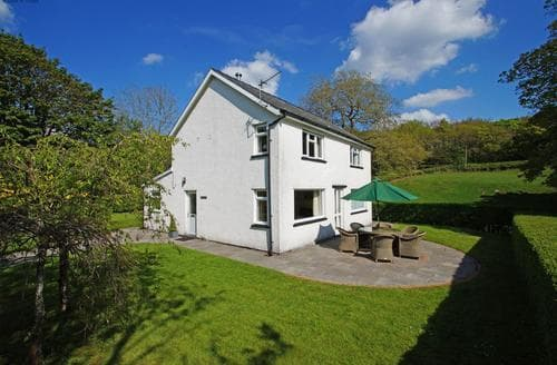 Big Cottages - Tasteful Aberdyfi Cottage S87739