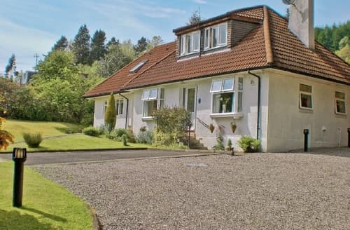 Big Cottages - Excellent Helensburgh Cottage S23042