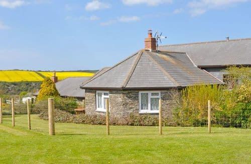 Last Minute Cottages - Trevorrick Farm Cottages - Credis View Caravan S99012