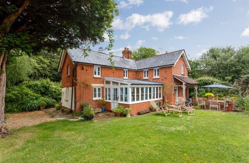 Last Minute Cottages - Lovely Fordingbridge Cottage S101660