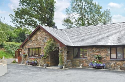 Big Cottages - Wonderful Aberdovey Cottage S24659
