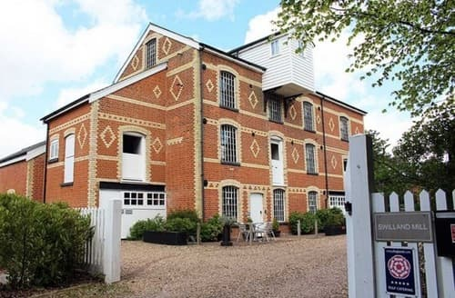 Big Cottages - Swilland Mill Luxury Accommodation - The Mylen S103355