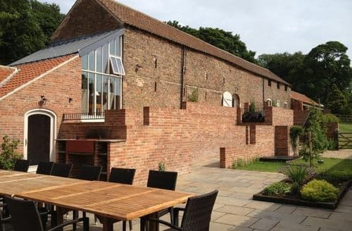 Big Cottages - Marris Barn At Thorganby Hall   Small Group Offer At Marris Barn S104004
