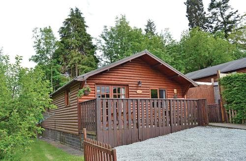 Last Minute Cottages - Superb Bron Y Garth Lodge S106951