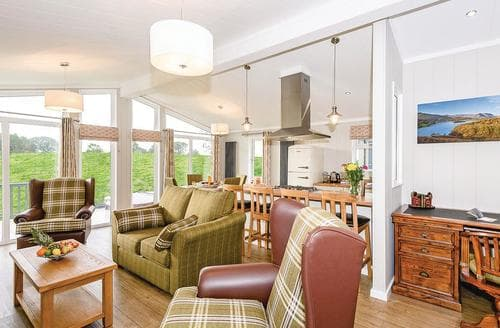 Last Minute Cottages - Delightful Bewaldeth Lodge S107650
