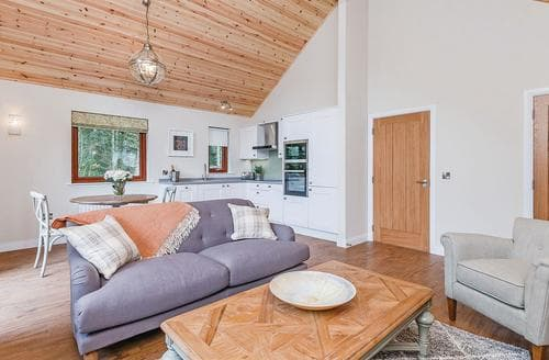 Last Minute Cottages - Cosy Fowlis Lodge S107768