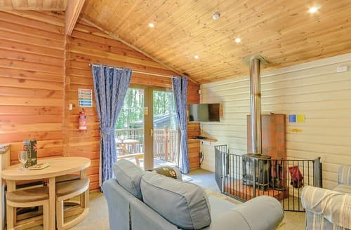 Last Minute Cottages - Luxury Sherwood Forest Lodge S109656