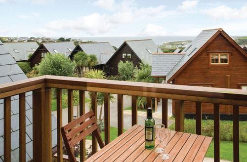Last Minute Cottages - Delightful Tregea Hill Lodge S109970