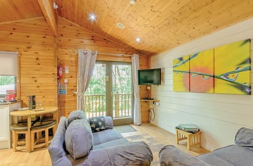 Last Minute Cottages - Cosy Sherwood Forest Lodge S110025