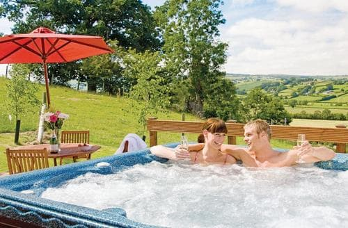 Last Minute Cottages - Charming Llandinam Lodge S110732