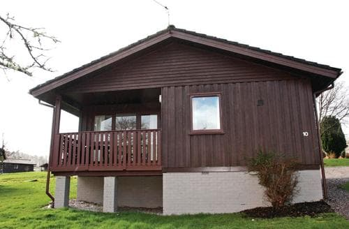 Big Cottages - Captivating Hunters Quay Lodge S111633