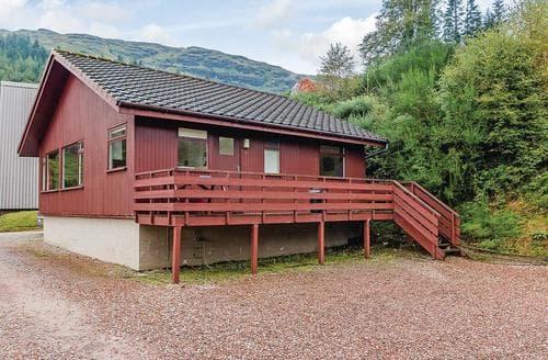 Big Cottages - Cosy Lochgoilhead Lodge S111790