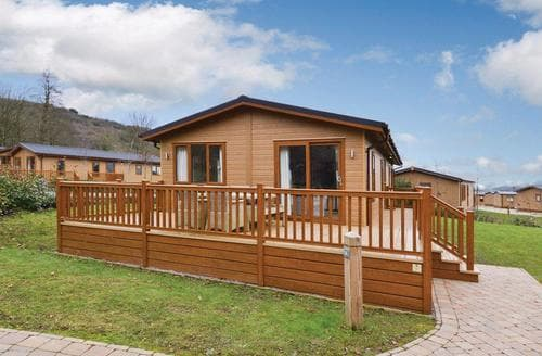 Last Minute Cottages - Stunning Cheddar Lodge S112081