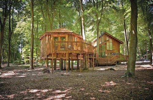 Big Cottages - Excellent Thetford Forest Lodge S112605