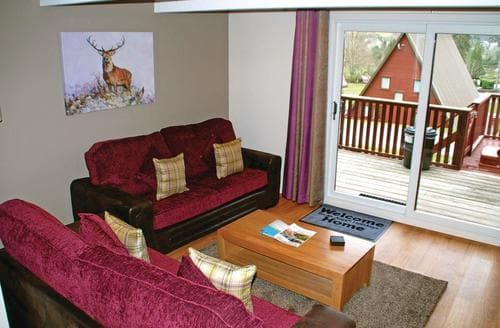 Big Cottages - Inviting Lochgoilhead Lodge S112809