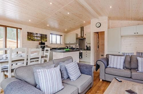 Big Cottages - Cosy Owslebury Lodge S112844