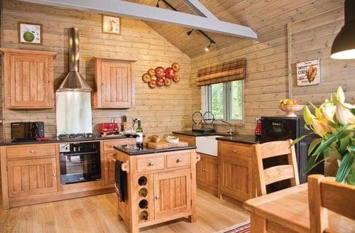 Last Minute Cottages - Cosy Henlle Lodge S113269