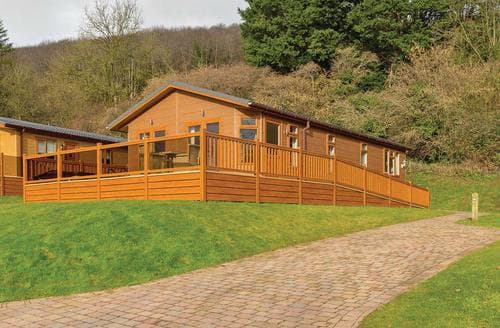 Last Minute Cottages - Luxury Cheddar Lodge S113281