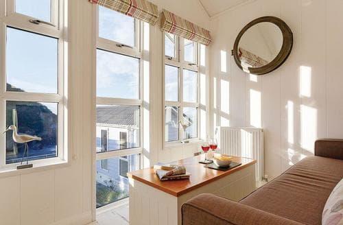 Last Minute Cottages - Tasteful Hele Bay Lodge S120935