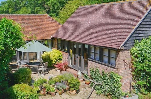 Big Cottages - Excellent Tunbridge Wells Cottage S13671